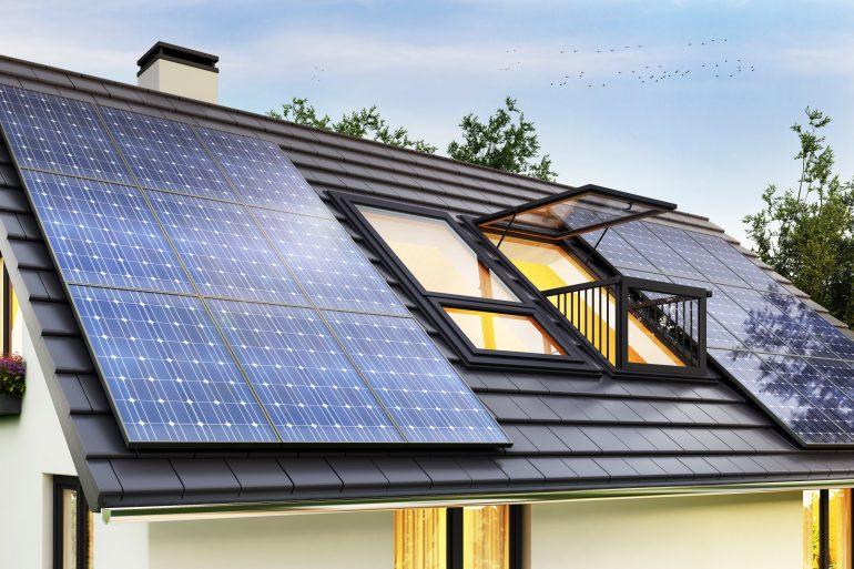Kur galima sumontuoti saulės elektrinę?