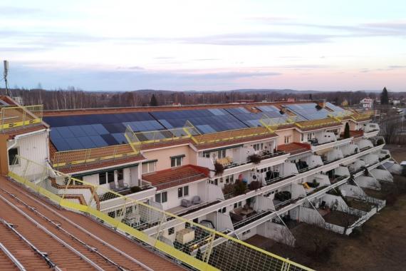 Gyvenamųjų namų saulės elektrinių projektas