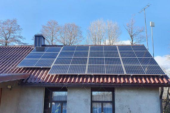 Saulės elektrinė Šakių rajone