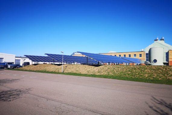 Saulės elektrinių parkas Helsingborge